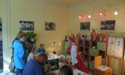мастер-класс «Матрешка-душа России»