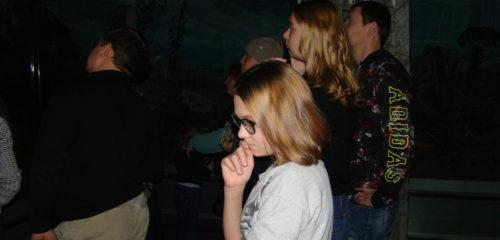 экскурсия в темноте по диораме «Лес и человек»